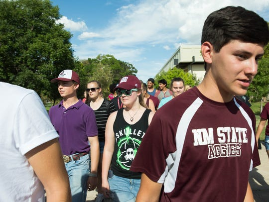 The second, New Mexico State University First Year