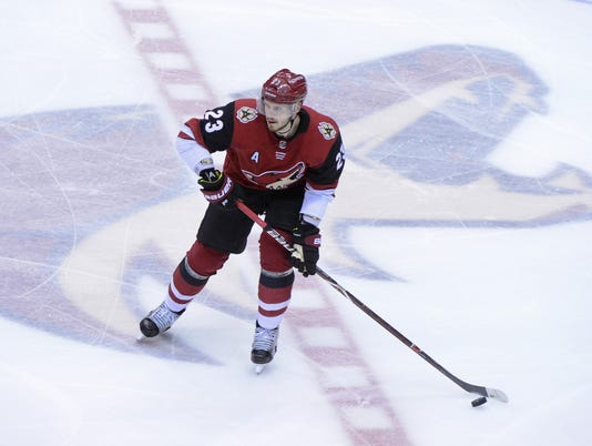 NHL: Toronto Maple Leafs at Arizona Coyotes
