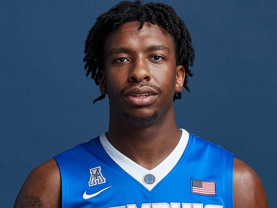 Memphis junior guard Kareem Brewton