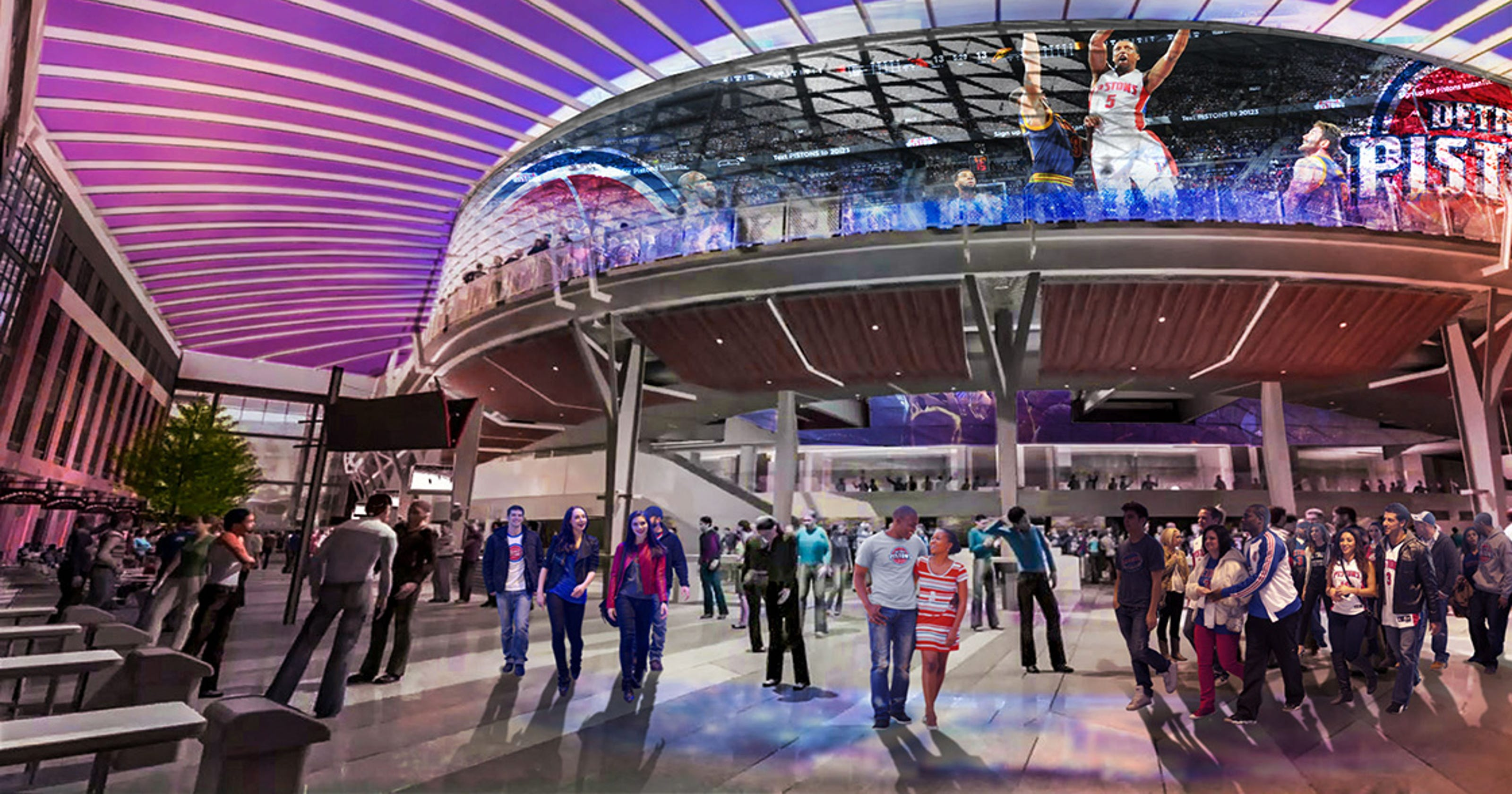 Lawsuit Detroit Dda Broke State Law With Pistons Deal