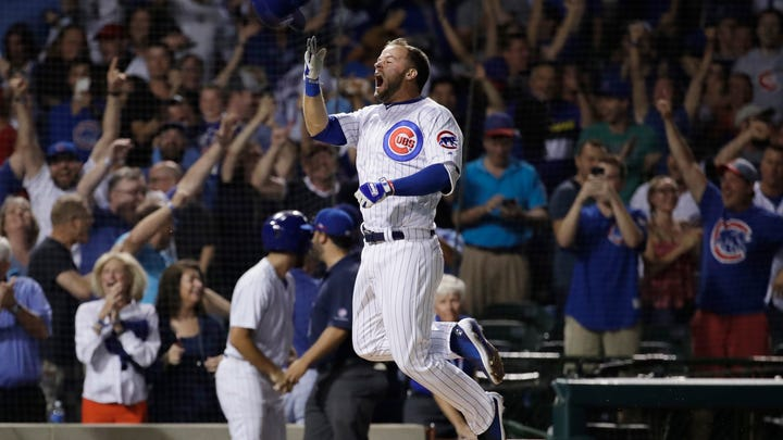 Cubs rookie clarifies decision to get excited over walk-off grand slam