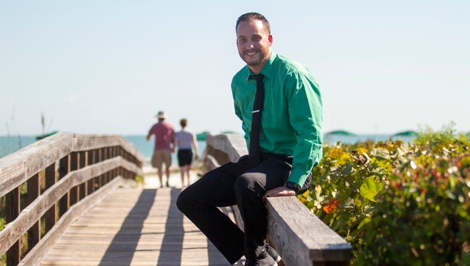 Charlie Watkins, 25, is the assistant general manager for The Inns of Sanibel.