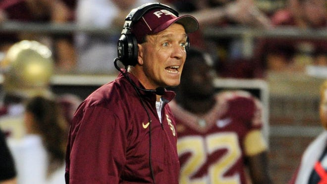 Florida State coach Jimbo Fisher has had to answer for accusations made against several of his players.