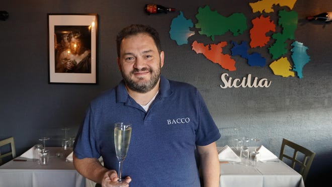 Armando Bisceglia is the owner of Bacco Vino & Contorni, a brand new, intimate restaurant on Federal Hill in Providence.