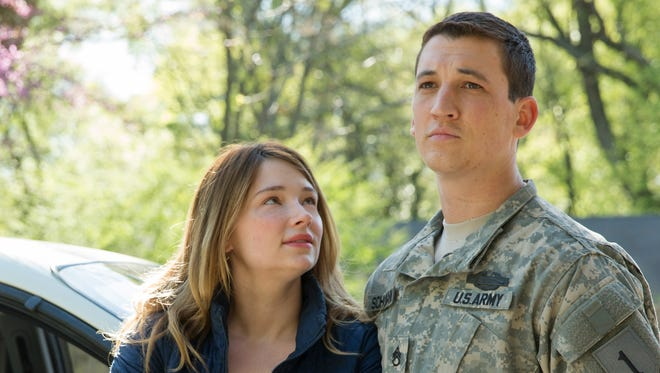 """In """"Thank You for Your Service,"""" Adam (Miles Teller) comes home to a supportive wife (Haley Bennett)."""