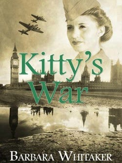 Kitty's War by Barbara Whitaker is available now where most major print and online books are sold.