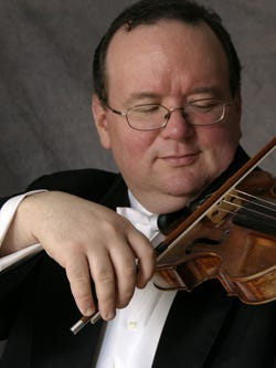 Violinist Brennan Sweet and members of the New Jersey Symphony Orchestra will perform Vivaldi with St. Paul's Choir on May 7 in Westfield.