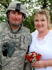 Army wedding 051214 2