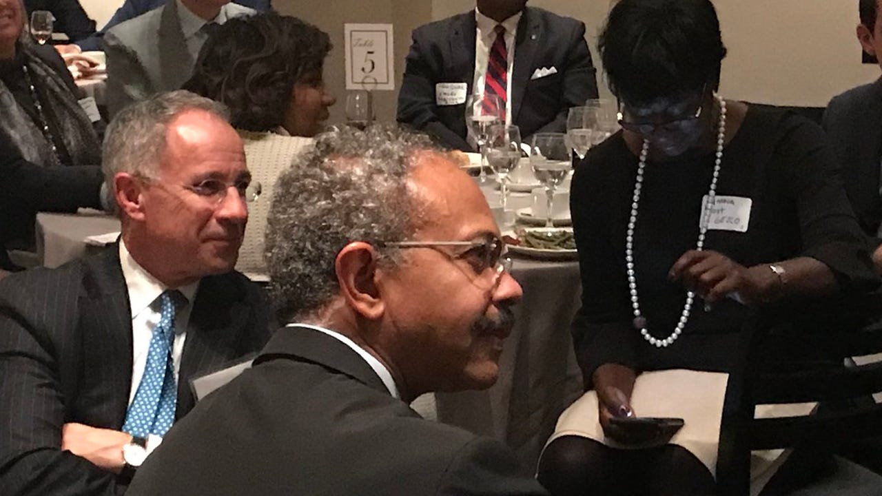 The Urban League of Essex County celebrated its 100th anniversary with a dinner talk event on Monday, Nov. 13, 2017