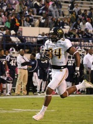 Grambling tight end Chris Bazile wasn't a featured