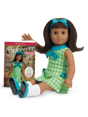 """American Girl's BeForever Melody doll and accompanying book, """"No Ordinary Sound."""""""