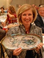 Kathleen Yhlen of Ocean City had the winning bid for