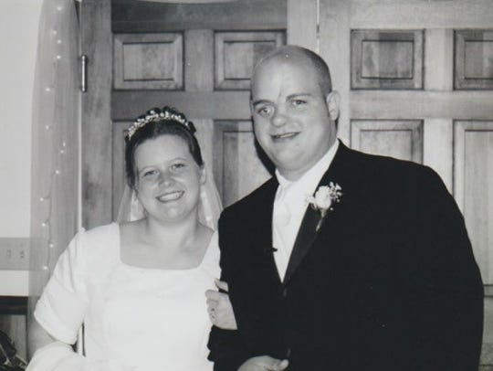 Buckey Bailey wedding day