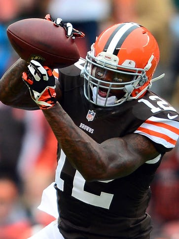 Browns WR Josh Gordon's suspension is over and he'll
