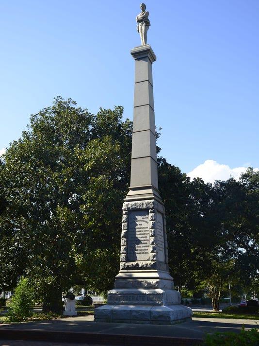 Confederate memorial at Lee Square has interesting history