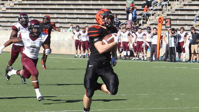 Charlie Volker is a two-sport star for Princeton.