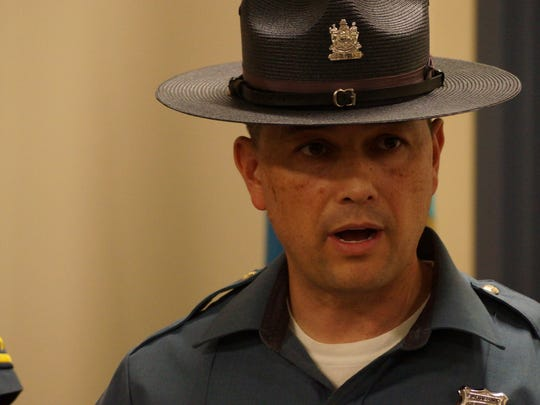 Sgt. Richard Bratz of the Delaware State Police