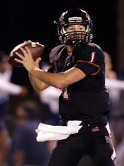 Maryville quarterback Dylan Hopkins, a Class 6A Mr.