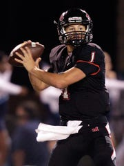 Maryville quarterback Dylan Hopkins, a Class 6A Mr. Footballsemifinalist a year ago, was 151-of-223 passing for 2,249 yards with 26 touchdowns and just four interceptions.