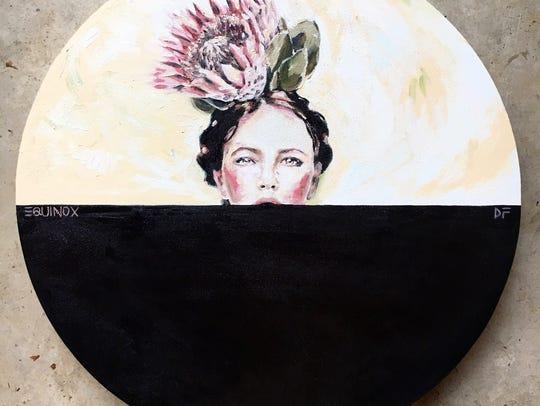 Equinox is one of Amanda Boekhout's paintings.