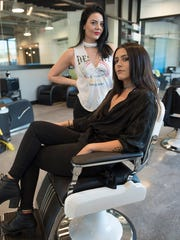 Meet stylists Jamie Powell and Becca Balsamo, at Lady