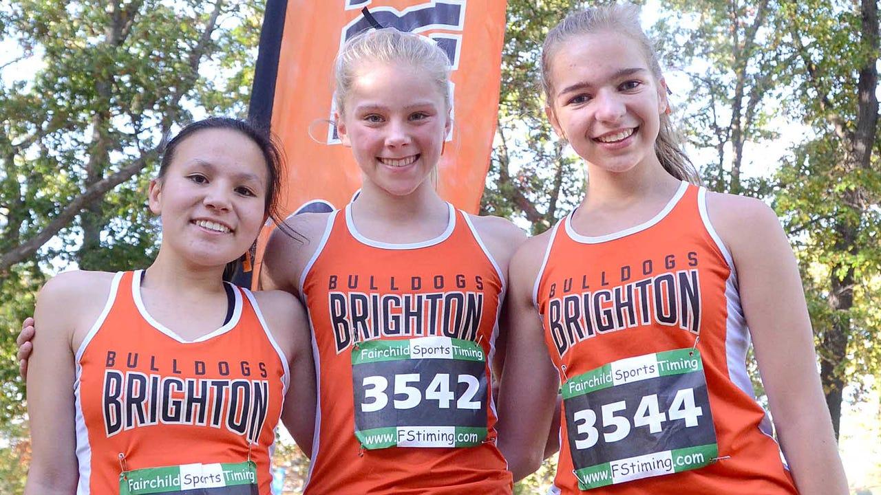 KLAA girls' cross country meet
