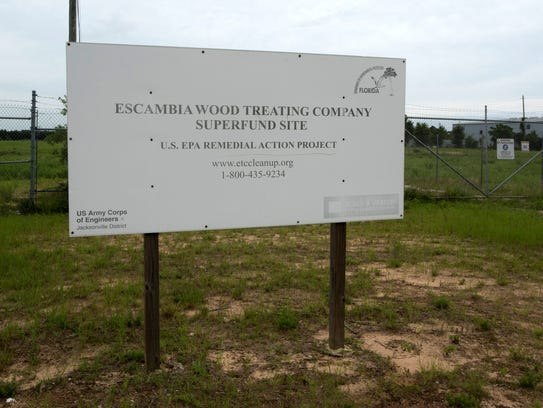 Commissioner Grover Robinson sees the Escambia Wood site as a perfect location to start addressing environmental concerns in other parts of the county.