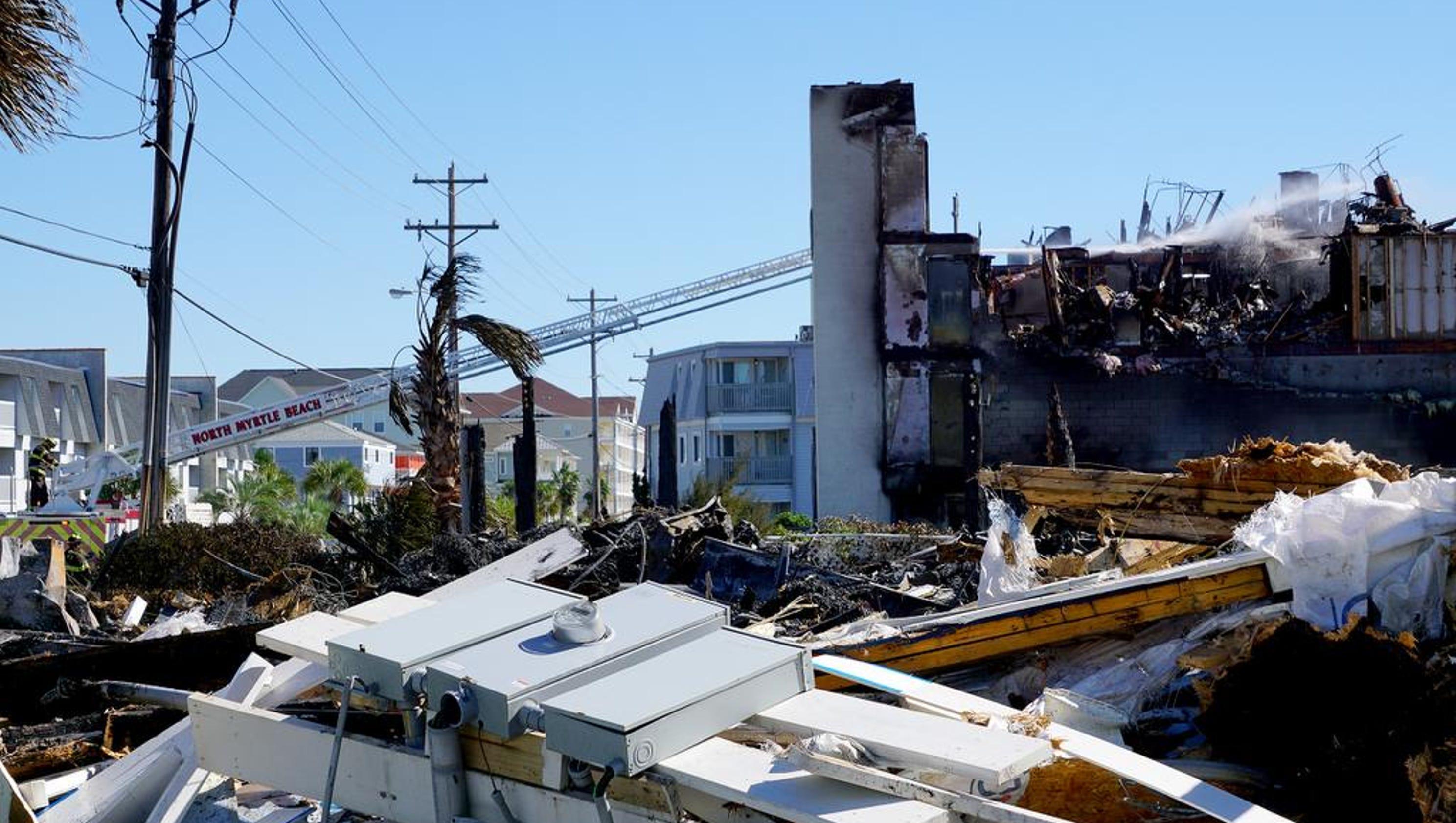 North Myrtle Beach Hurricane Matthew Damage