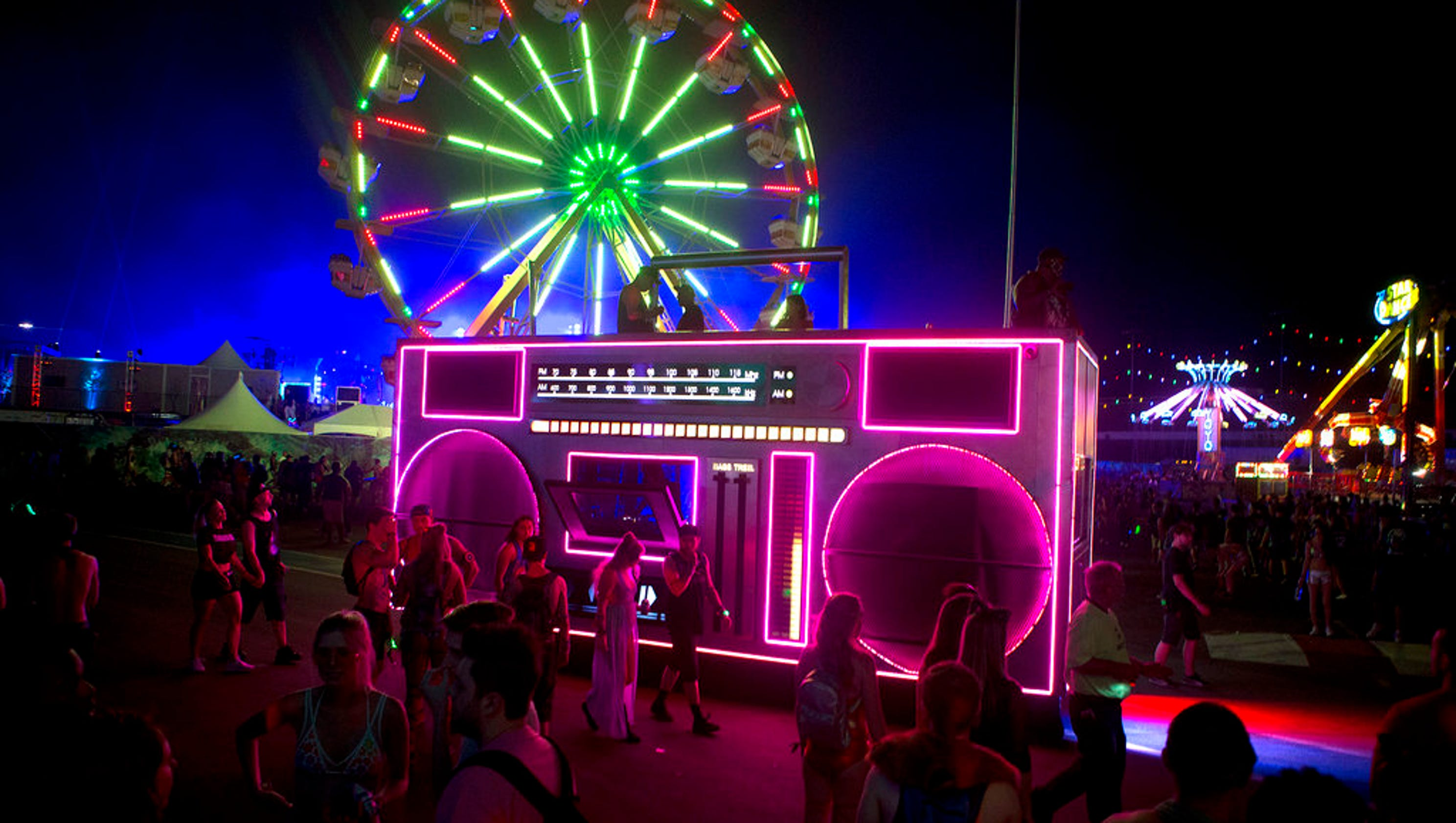 Photos: Electric Daisy Carnival 2017