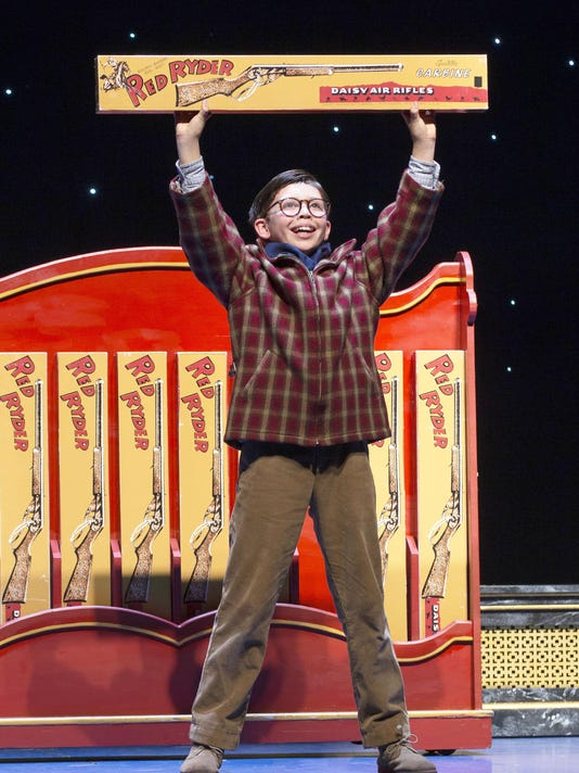 christmas story musical brings its hijinks to the fox - A Christmas Story Musical