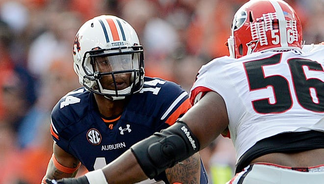 Auburn quarterback Nick Marshall goes back to Georgia for the first time since his dismissal in Feb. 2012.