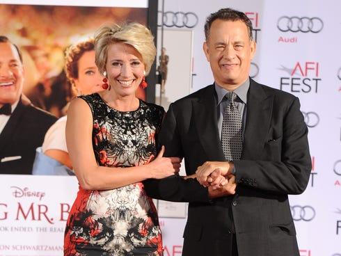 Emma Thompson and Tom Hanks usher in AFI Fest 2013 with 'Saving Mr. Banks.'