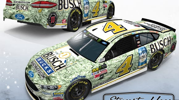 If Kevin Harvick wins a race, he could make a fan $1 million richer