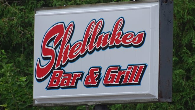 Two gaming machines were seized in a raid at Shellukes Bar & Grill..
