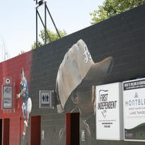 Photo Realism Mural Brings More Art into Greater Nevada Field