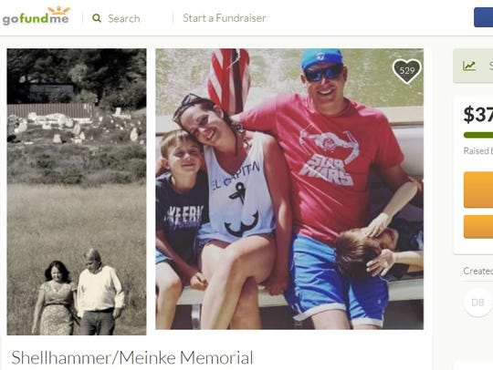 A GoFundMe campaign organized in honor of Whitney Meinke,