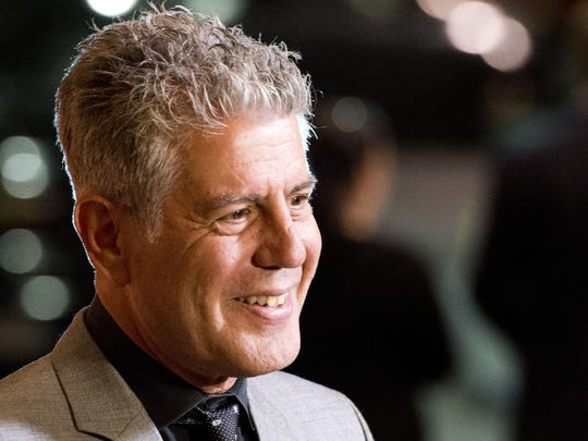 "Anthony Bourdain's documentary ""Wasted"" is on the schedule at the 2018 Heartland Film Festival in Indianapolis."