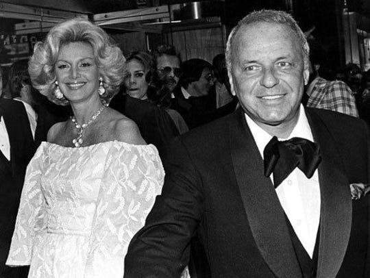 Barbara and Frank Sinatra.