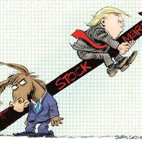Trump Rides the Stock Market Up