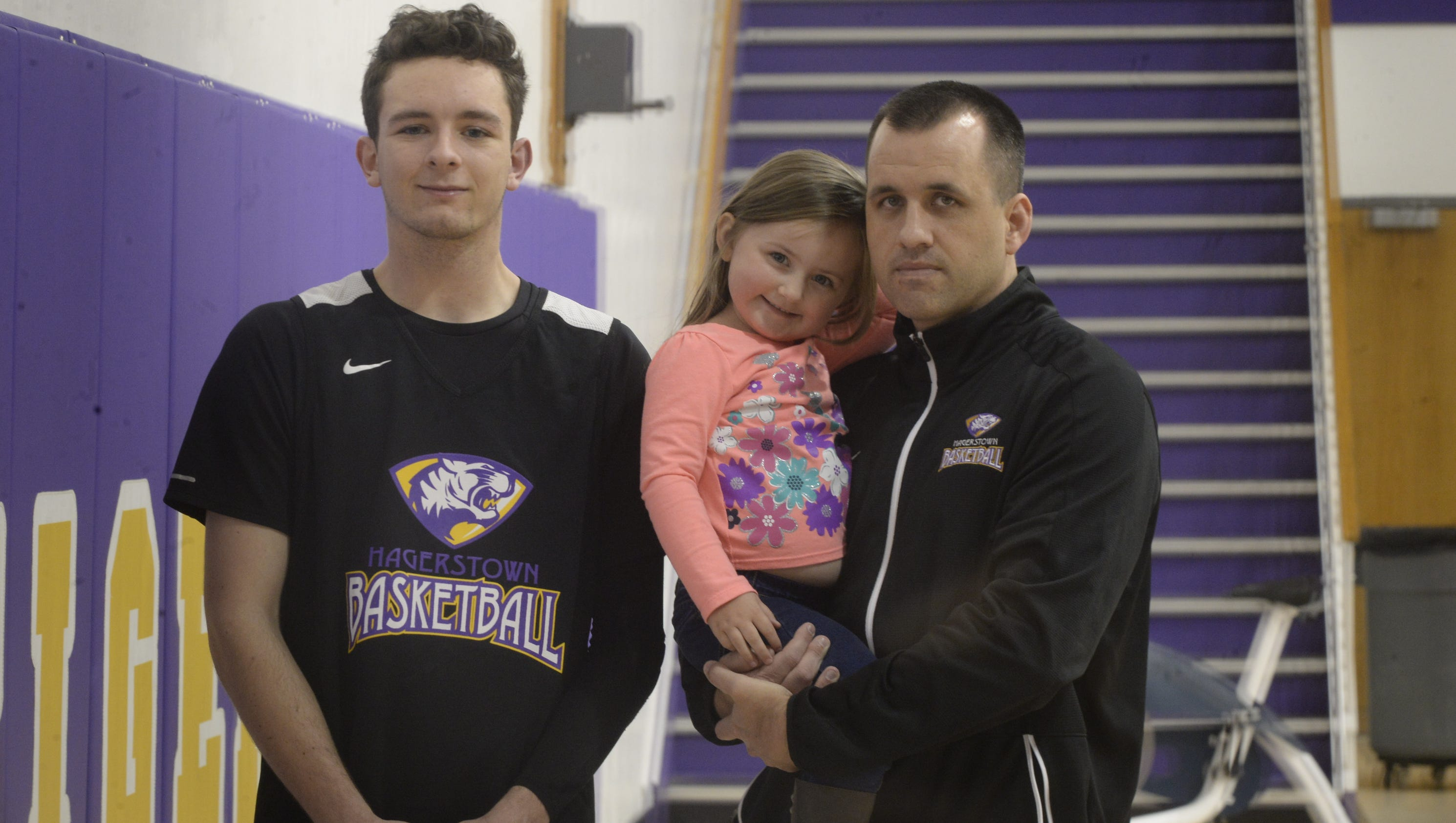 Diabetic athlete guides coach with daughter's condition