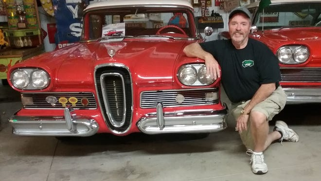 """Harold """"Hank"""" Davis is co-owner of The Car Guys in Bucyrus. His love of cars began when he was just 4 years old."""