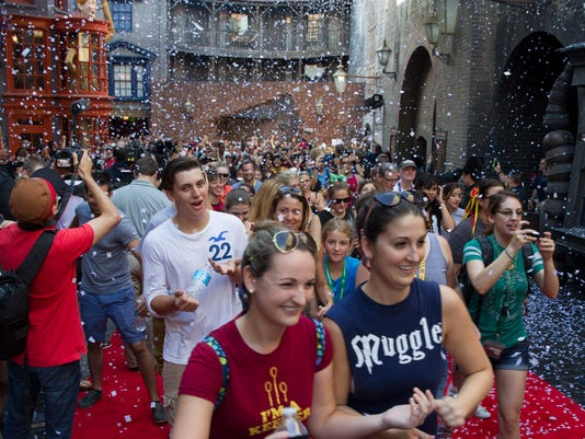 Diagon Alley Grand Opening 3