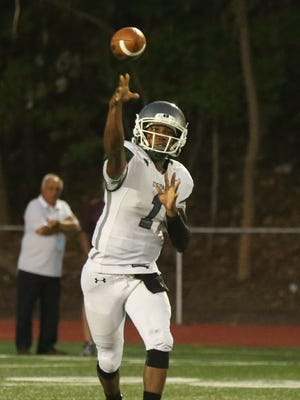 DePaul sophomore quarterback Taquan Roberson has thrown for 1,031 yards and eight touchdowns to help lead the Spartans to the Non-Public Group 3 title game.