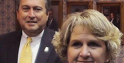 File photo shows Wetumpka Mayor Jerry Willis and Police Chief Celia Dixon.