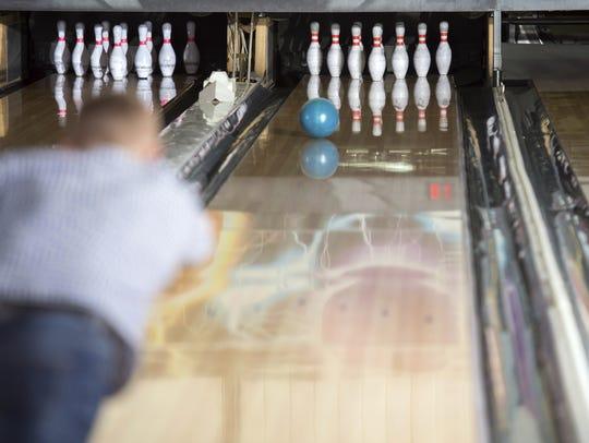 File art - Bowling game