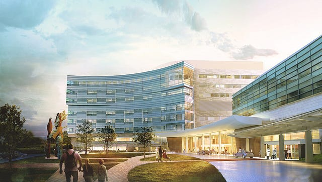 Penn State Children's Hospital in Hershey plans to add three floors to the building.