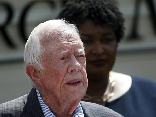 Jimmy Carter,Stacey Abrams