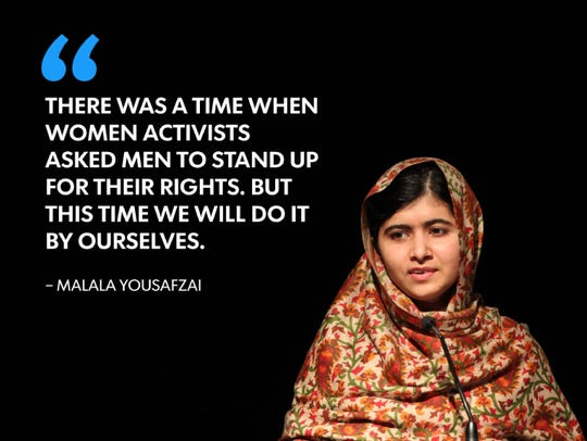 Malala Yousafzai won the 2014 Nobel Peace Prize with