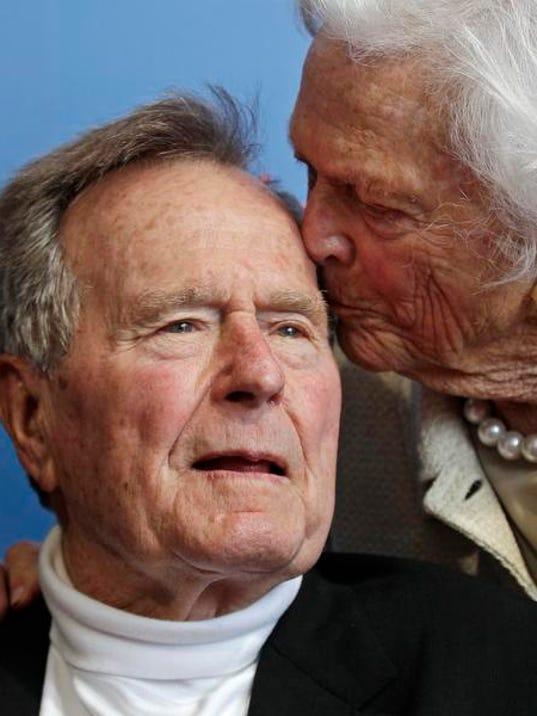 George H.W. Bush, George Bush, Barbara Bush