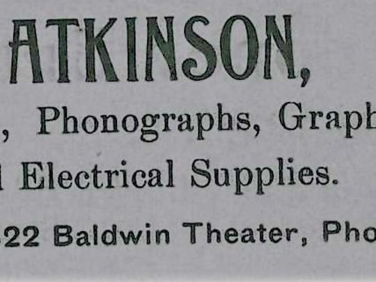 Prior to being an automobile dealer, John E. Atkinson